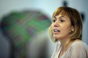 Miren Larrion, concejala en Gasteiz y diputada en el Parlamento Vasco. FOTO | http://ehbildu.eus/